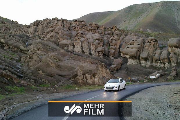 فیلمی از صخرههای ارواح در ایران