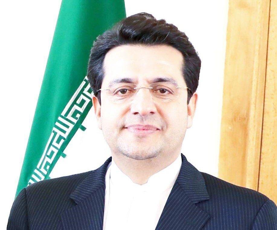نتيجة بحث الصور عن لمتحدث باسم الخارجية الإيرانية، عباس موسوي