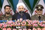 تمجید روحانی از سپاه برای مقابله با آمریکا