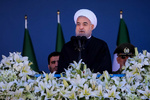 Rouhani hails Army's role in ensuring Iran's independence, territorial integrity