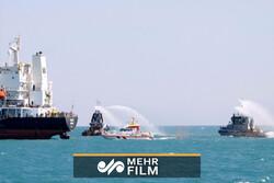 ایران اور عمان کی بحریہ کی مشترکہ مشقیں