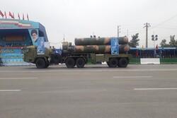 شرکت سامانه موشکی اس ۳۰۰ در رژه تهران