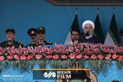 صدر حسن روحانی کا امریکی اقدام کے خلاف سپاہ کا بھر پور دفاع