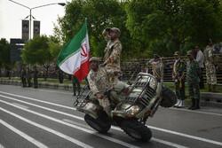 رژه ۲۹ فروردین، روز ارتش در شیراز