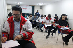 دوره تربیت مربی امداد و کمکهای اولیه در قزوین اجرا شد
