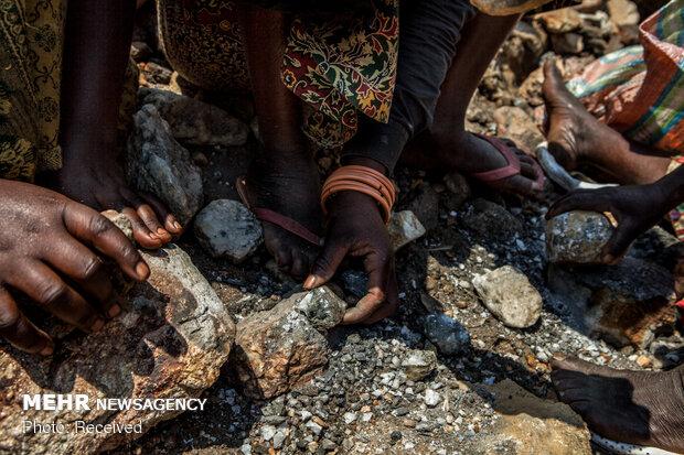 زنان معدن کار در جمهوری دموکراتیک کنگو