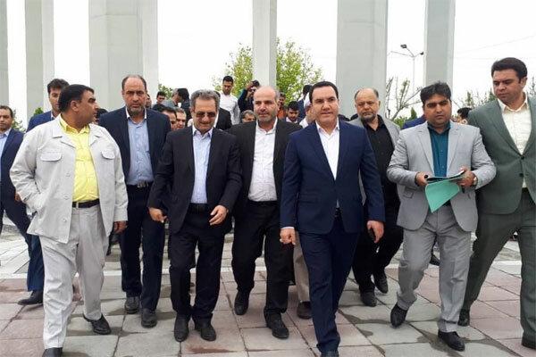 تجدید میثاق استاندار تهران با شهدای گمنام رباط کریم