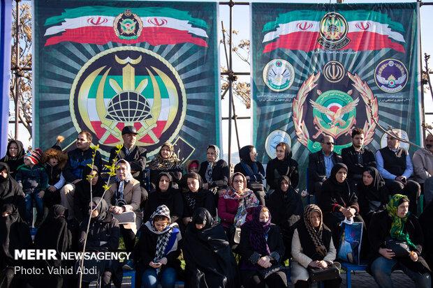 رژه ۲۹ فروردین، روز ارتش در تبریز
