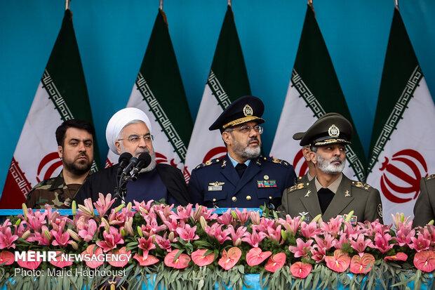 رژه نیروهای مسلح در تهران