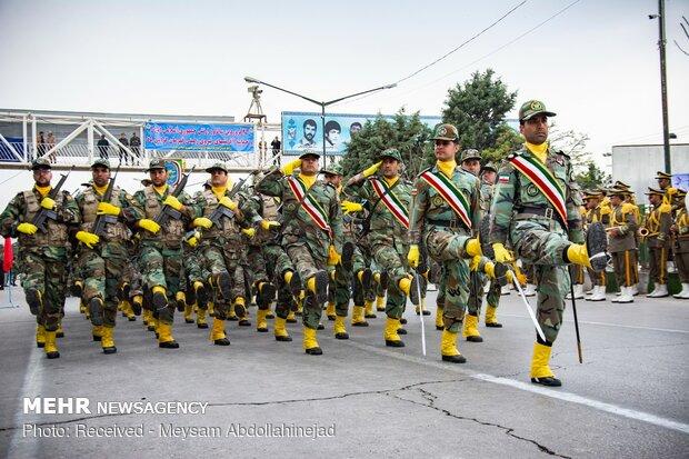 رژه ۲۹ فروردین، روز ارتش در کرمانشاه