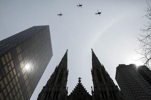 بازداشت مردی به ظن تلاش برای آتشزدن کلیسای «سنت پاتریک» نیویورک