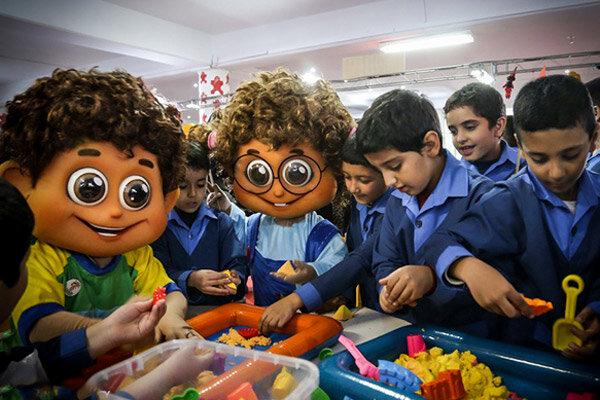۱۰۰ کلاس بازی و یادگیری در استان قزوین راه اندازی شده است