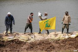 Lebanese humanitarian aid in Khuzestan flood-affected areas