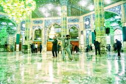 مسجد مقدس جمکران میں غبار روبی کی تقریب