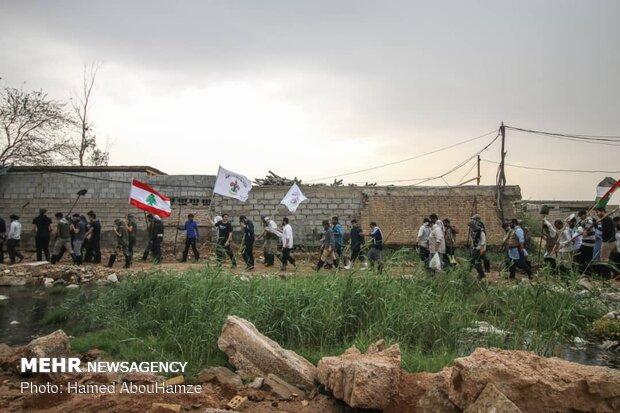 تواجد الشباب اللبناني في خوزستان