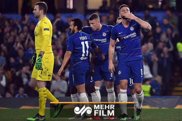 صعود پر گل چلسی به مرحله نیمهنهایی لیگ قهرمانان اروپا