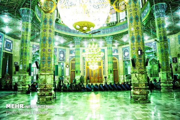 مراسم غبارروبی مسجد مقدس جمکران