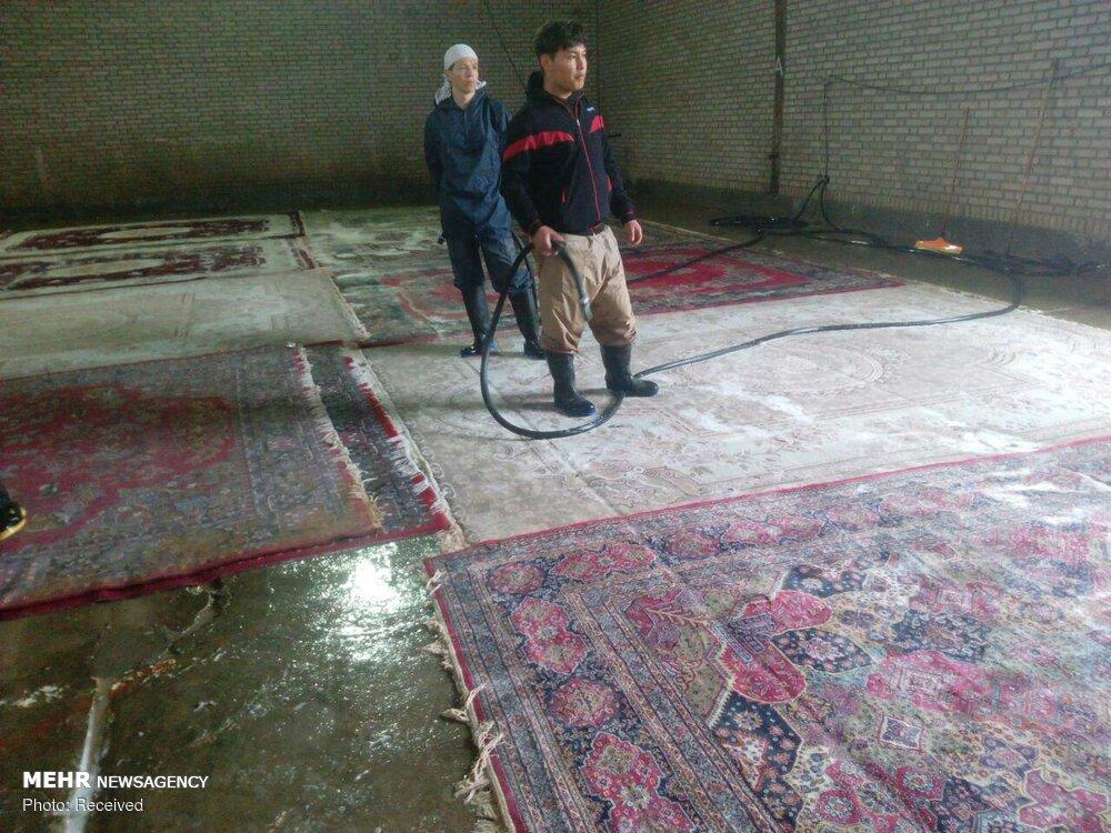 قالیشویی صلواتی در پلدختر