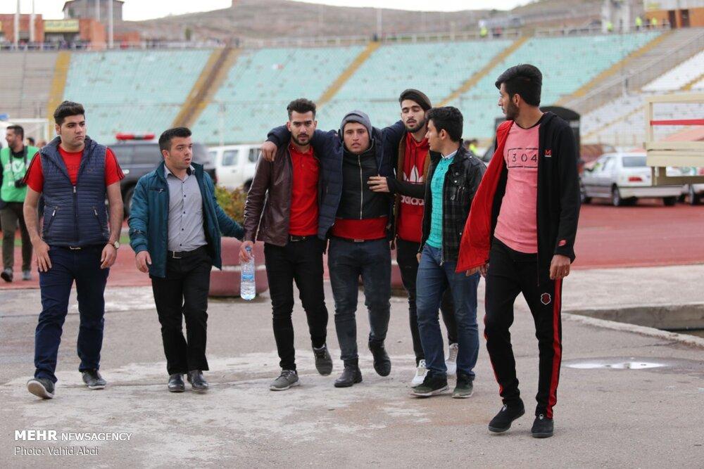 حاشیه های دیدار تیم های فوتبال تراکتورسازی و پیکان