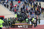 حضور پلیس ضدشورش در اطراف ورزشگاه یادگار امام تبریز