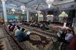آئین جز خوانی قرآن کریم در مسجد جامع سنندج آغاز شد