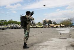 مراسم رونمایی و تحویل دستاوردهای جدید دفاعی نیروی زمینی ارتش