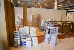 آماده سازی نمایشگاه کتاب تهران