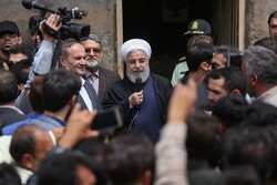 Rouhani vows govt. continued support to flood-hit people