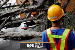 فیلمی از لحظه وقوع زلزله در تایپه پایتخت تایوان