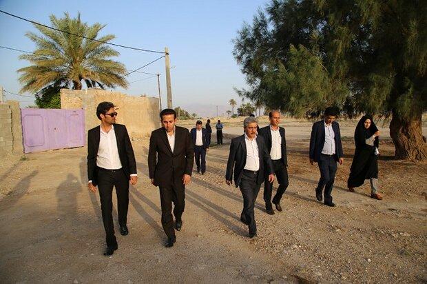 مشکلات مردم روستاهای تنگستان رفع میشود