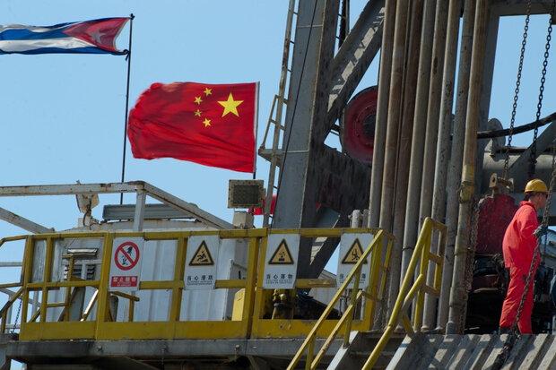حفاران نفتی چین زیر گوش آمریکا/ورود چشمبادامیها به آبهای کوبا