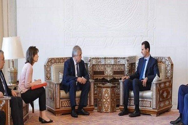 دیدار «بشار اسد» با فرستاده «پوتین» در دمشق