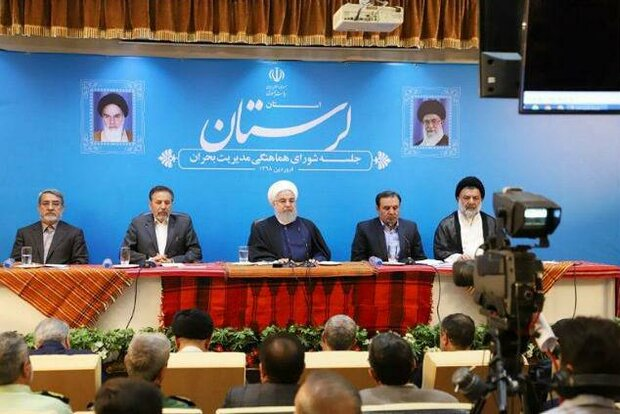 Gov. to pay for temporary housing of flood-hit families: Rouhani