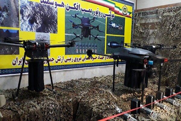 الجيش الايراني يكشف الستار عن 6 إنجازات عسكرية متطورة محلية الصنع