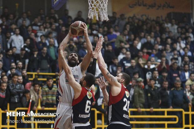 شهرداری گرگان حریفانش در لیگ برتر بسکتبال را شناخت
