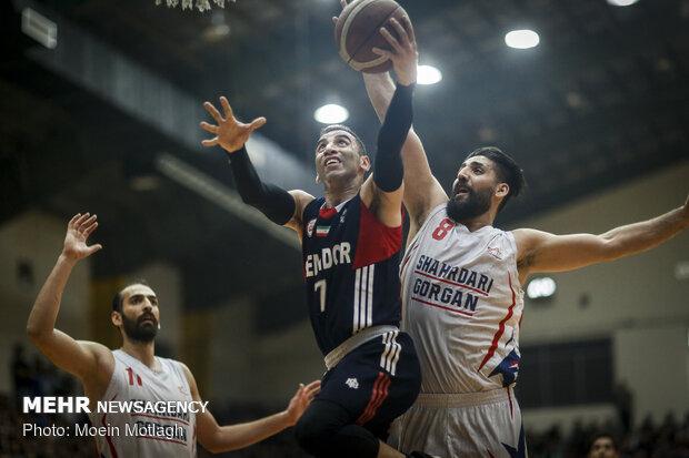 شکست خانگی شهرداری گرگان در اولین فینال لیگ بسکتبال