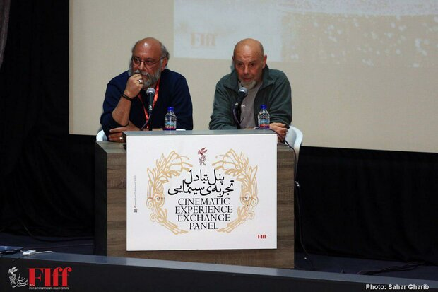 Italian cinematographer Luca Bigazzi holds workshop in Tehran