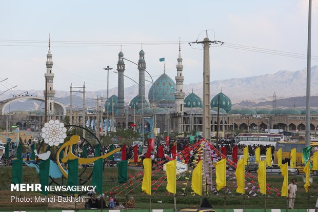 Jamkaran Mosque prepares to host 12th Shia Imam's birth anniv.