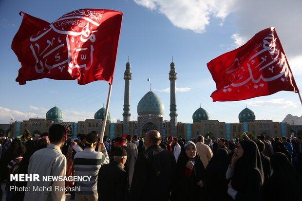 حال و هوای مسجد مقدس جمکران درآستانه نیمه شعبان