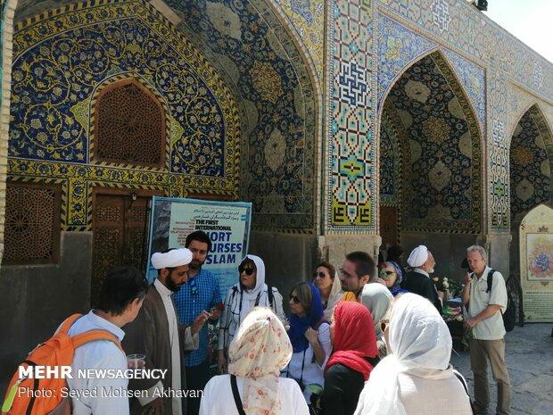 Tourists receive warm welcome during 12th Shia Imam birth anniv. celebrations