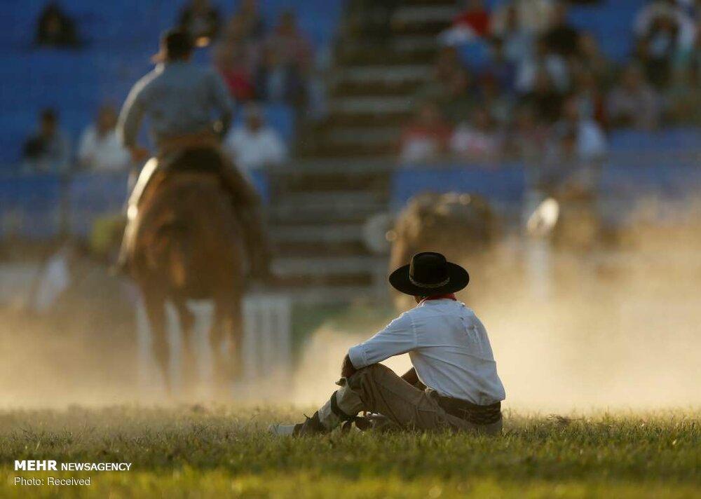 رام کردن اسب در اروگوئه