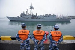 رزمناوهای هند و استرالیا در «چینگدائو» چین پهلو گرفتند