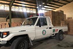 اهدای ۲۰ هزار بسته آموزشی -بهداشتی به سیل زدگان لرستان توسط بانک آینده