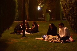 مراسم احیای شب نیمه شعبان در دانشگاه تهران