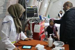 پذیرش ۱۶۰ بیمار در بیمارستان سیار عاشقان ولایت