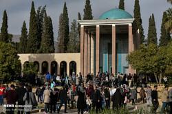 Mausoleum of Sadi, Shiraz. (Mehr/Amin Berenjkar)