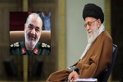 قائد الثورة الإسلامية يعيّن اللواء سلامي قائدا للحرس الثوري