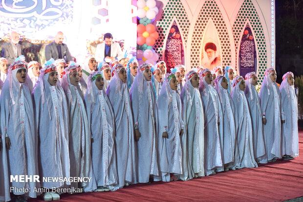 إيران تحيي ذكرى مولد الامام المهدي(عج)
