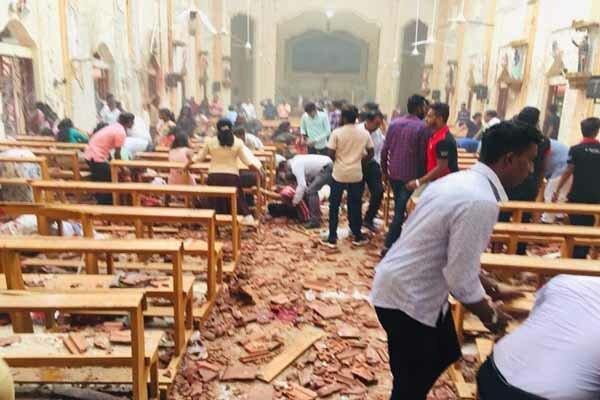 پوتین انفجارهای سریلانکا را محکوم کرد