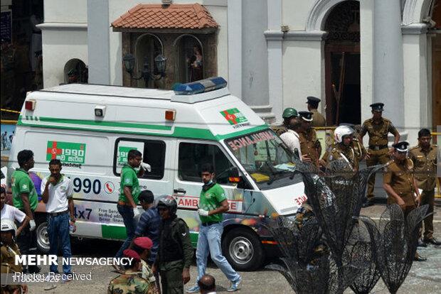سری لنکا کی پولیس نے بم دھماکوں میں ملوث ہونے کے شبہ میں 7 افراد کو گرفتار کرلیا